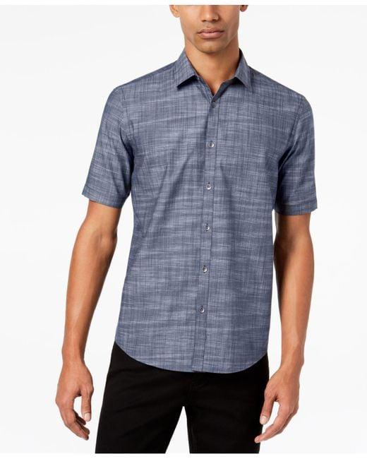 Alfani - Blue Men's Classic-fit Zane Shirt for Men - Lyst