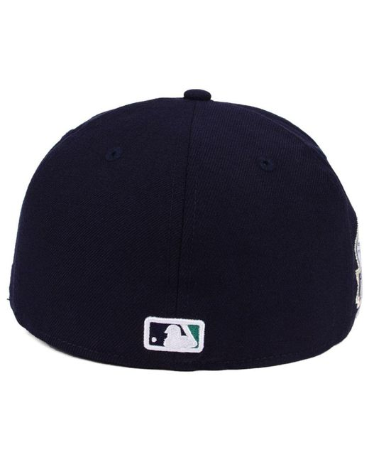 reputable site a7482 6001d ... KTZ - Blue Ultimate Patch Collection Anniversary 59fifty Cap for Men -  Lyst ...