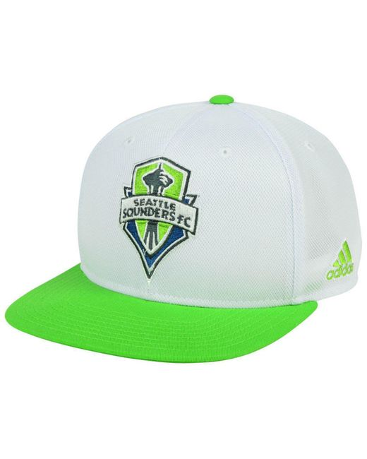 ab1e69bf576 Adidas - Green Seattle Sounders Fc 2tone Snapback Cap for Men - Lyst ...