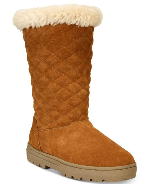 Style & Co. - Brown Nickyy Cold-weather Boots - Lyst