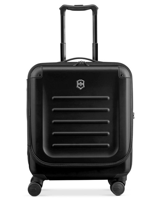 """Victorinox - Black Suitcase, 21"""" Spectra 2.0 Rolling Hardside Extra Capacity Dual Access Carry On Spinner Upright for Men - Lyst"""