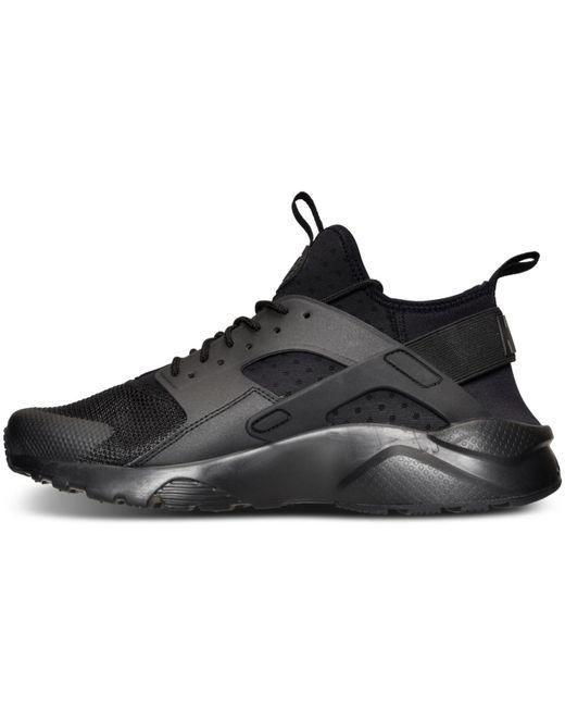 74b94e9099d9 ... Nike - Black Men s Air Huarache Run Ultra Running Sneakers From Finish  Line for Men ...