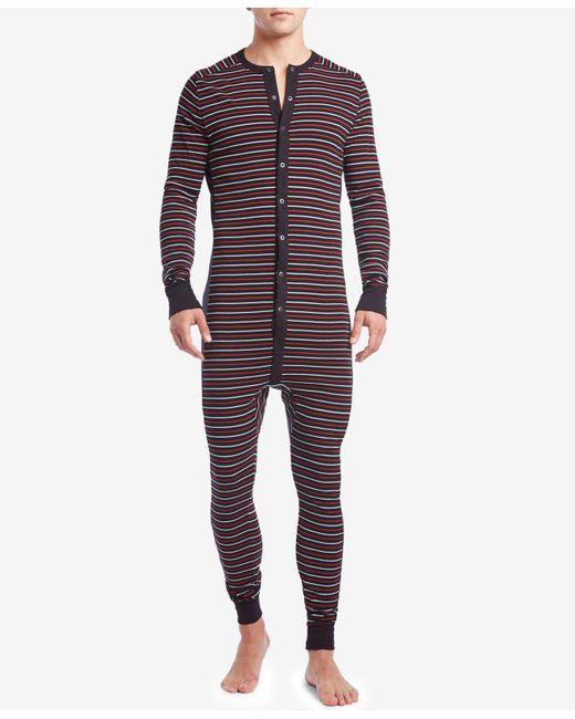 2xist - Blue Men's Cotton Jumpsuit Pajamas for Men - Lyst