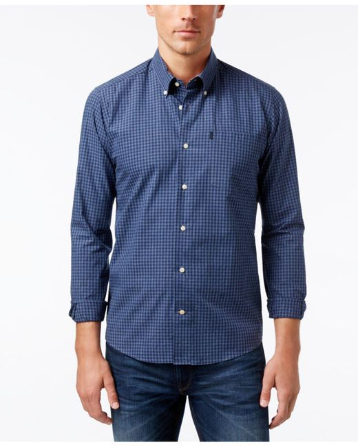 Barbour | Gray Country Gingham Button-down Shirt for Men | Lyst