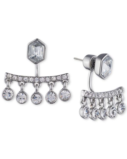 Ivanka Trump | Metallic Crystal Chandelier Earring Jackets | Lyst