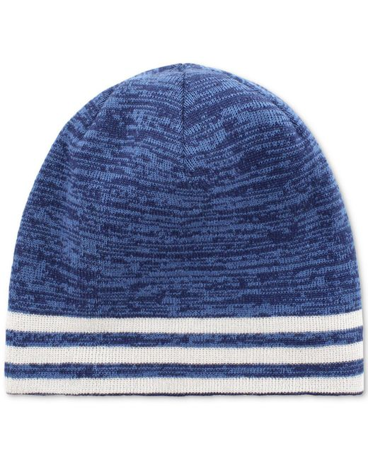 8a13d36d6fd ... Adidas - Blue Eclipse Climawarm® Reversible Beanie for Men - Lyst
