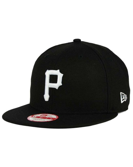 KTZ - Black Pittsburgh Pirates B-dub 9fifty Snapback Cap for Men - Lyst