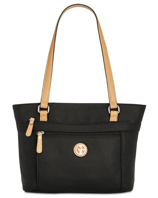 Giani Bernini - Black Pebble Tote, Created For Macy's - Lyst