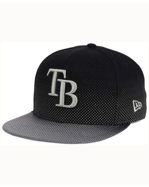 KTZ - Black Tampa Bay Rays Flow Flect 9fifty Snapback Cap for Men - Lyst