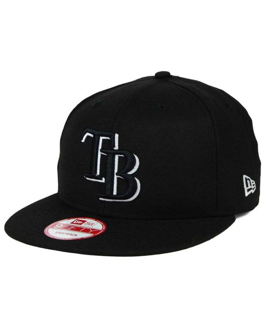 KTZ - Black Tampa Bay Rays B-dub 9fifty Snapback Cap for Men - Lyst