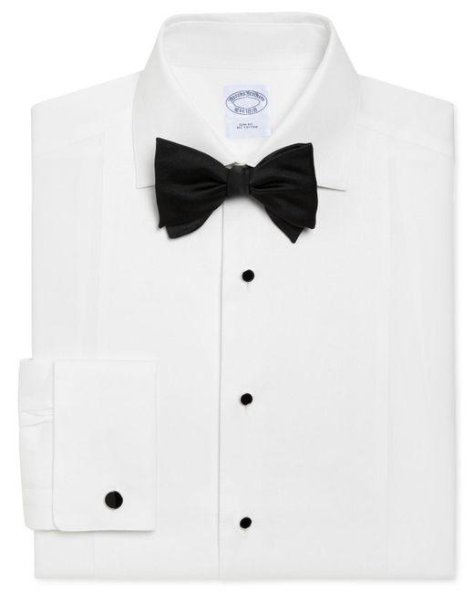 Brooks Brothers - White Regent Slim Fit Bib-front Tuxedo Shirt for Men - Lyst