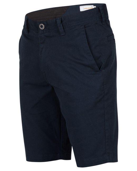 Volcom | Blue Men's Frickin Mod Stretch Shorts for Men | Lyst