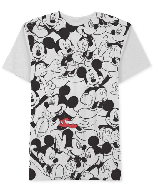 Jem - White Repeating Mickey T-shirt for Men - Lyst