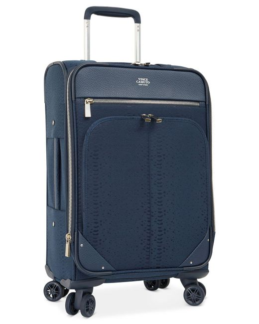 """Vince Camuto - Blue Ameliah 28"""" Expandable Softside Spinner Suitcase for Men - Lyst"""