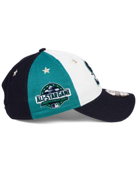 lowest price 75cea 17930 ... low price ktz blue seattle mariners all star game 9twenty strapback cap  2018 for men lyst
