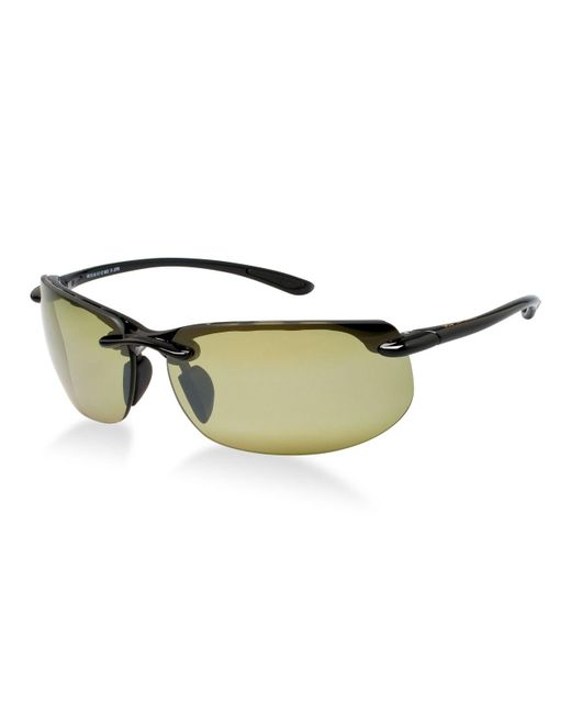 04626eb34d Maui Jim - Black Sunglasses, 412 Banyans - Lyst ...