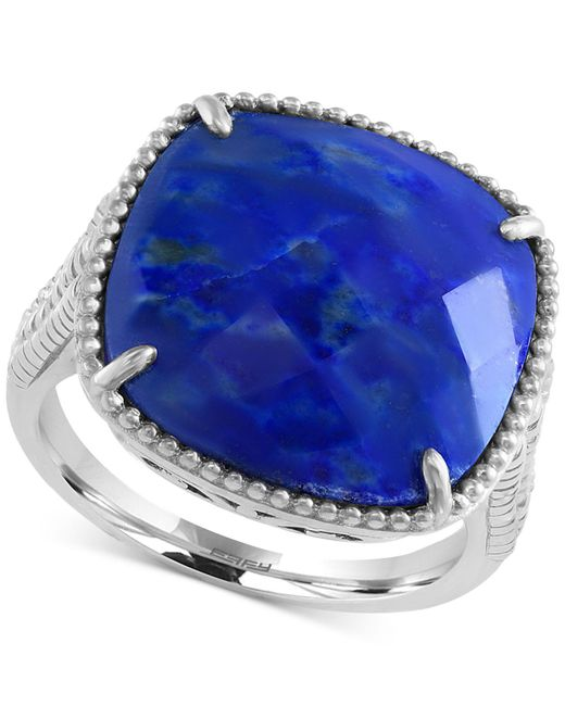 Effy Collection - Blue Lapis Lazuli Drama Ring (7-2/3 Ct. T.w.) In Sterling Silver - Lyst