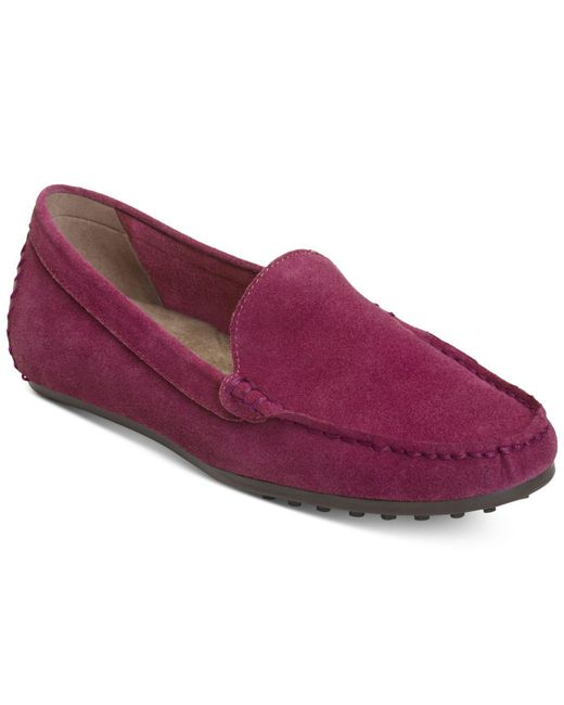 Aerosoles | Purple Over Drive Moccasin Flats | Lyst