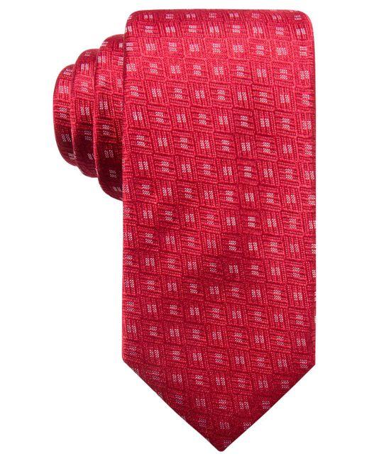 Alfani | Red Men's Neat Silk Slim Tie, Created For Macy's for Men | Lyst