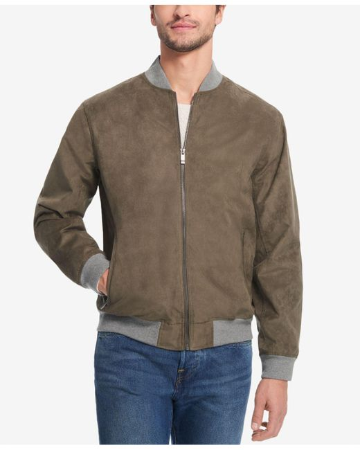 Weatherproof - Multicolor Microsuede Baseball Jacket, Created For Macy's for Men - Lyst