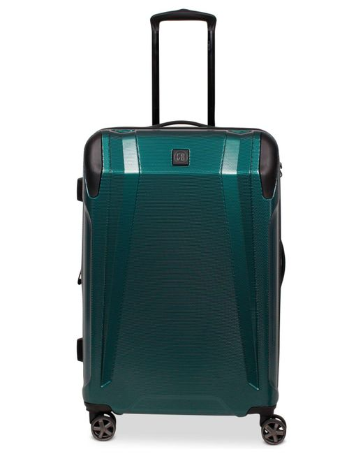 "Revo - Green Apex 25"" Expandable Hardside Spinner Suitcase - Lyst"