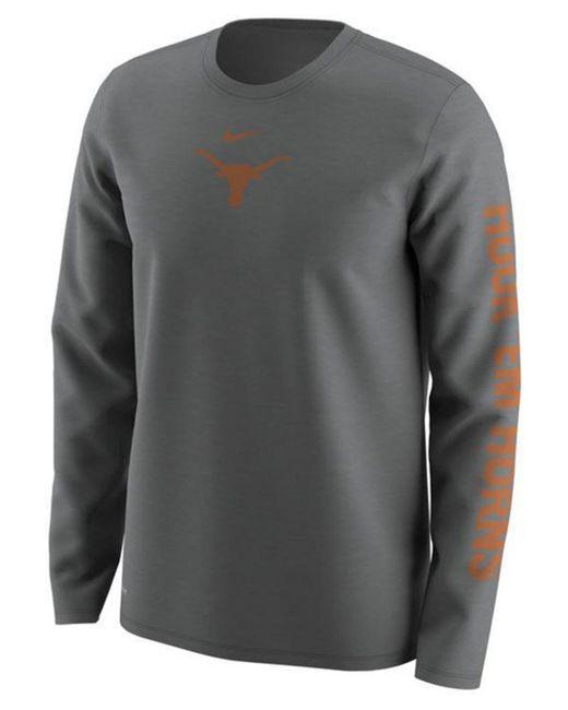 Nike - Gray Men's Fresh Trainer Hook Long Sleeve T-shirt for Men - Lyst
