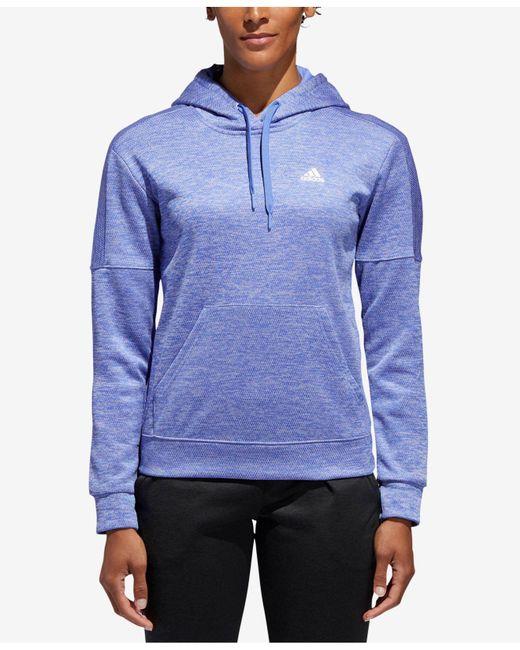 Adidas - Purple Team Issue Hoodie - Lyst