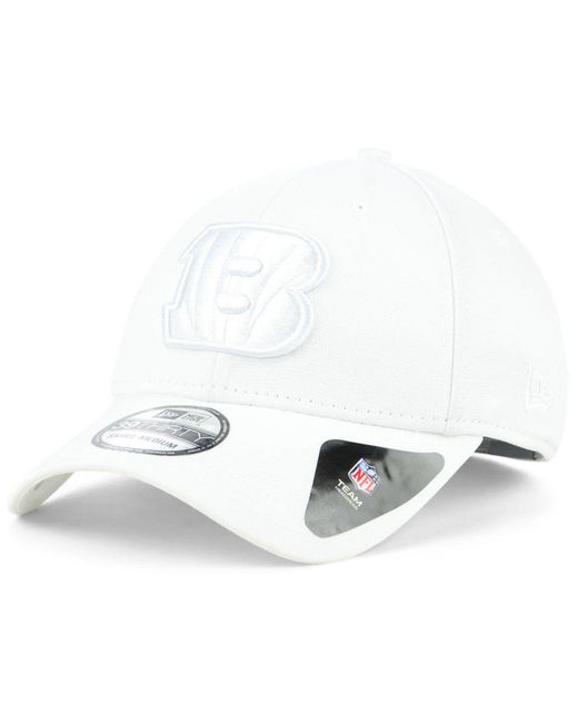 KTZ - White Cincinnati Bengals Tonal Heat 39thirty Cap for Men - Lyst ... fb07e3e89