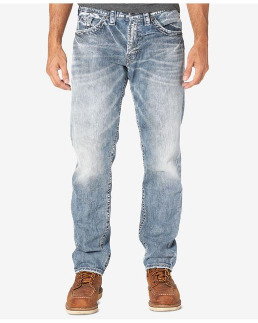 Silver Jeans Co. - Blue Men's Eddie Jeans for Men - Lyst