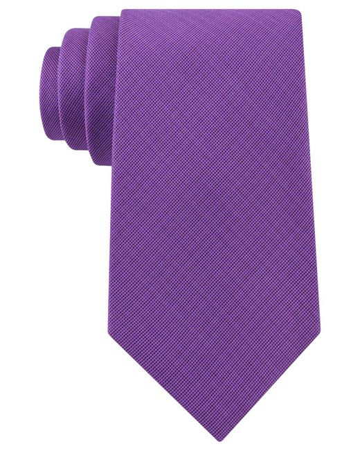 Michael Kors | Purple Men's Admiral Solid Tie for Men | Lyst