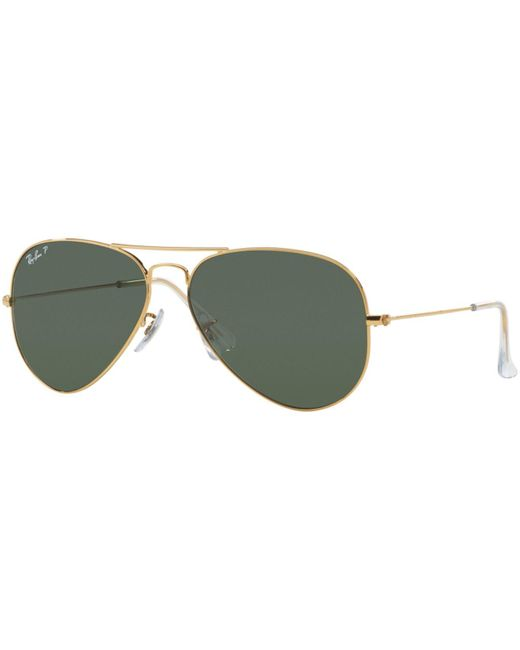 Ray-Ban - Green Sunglasses, Rb3025 58 for Men - Lyst