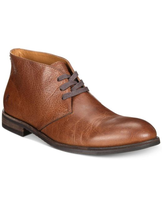 Frye - Brown Scott Chukka Boots, Created For Macy's for Men - Lyst