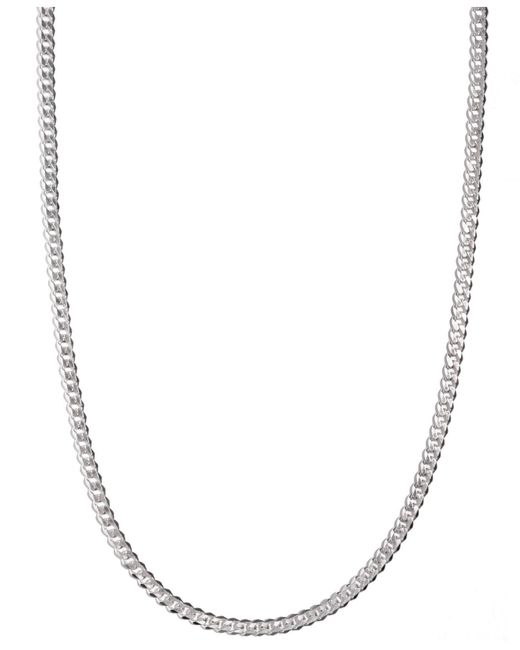 """Macy's - Multicolor Sterling Silver Necklace, 24"""" 5-1/2mm Chain for Men - Lyst"""