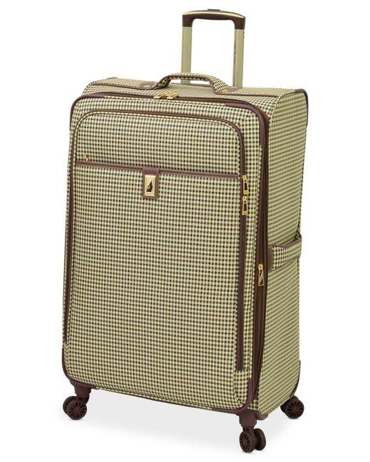 "London Fog - Multicolor Oxford Hyperlite 29"" Expandable Spinner Suitcase for Men - Lyst"