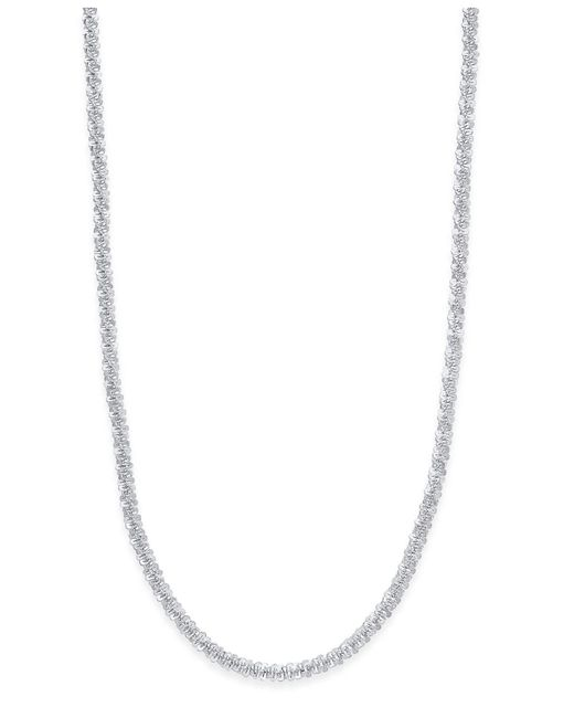 Giani Bernini - Metallic Sparkle Link Chain Necklace In Sterling Silver - Lyst