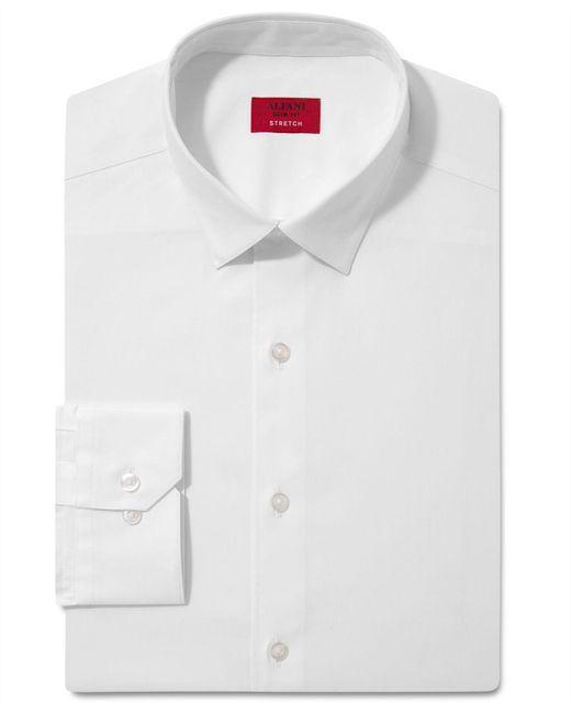 Alfani - White Spectrum Men's Slim-fit Stretch Dress Shirt for Men - Lyst