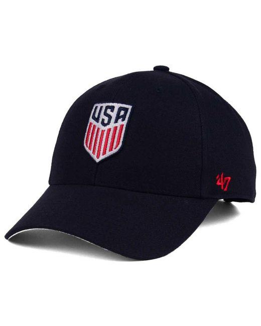 hot sale online 8402b 64fca 47 Brand - Blue Usa Crest Mvp Adjustable Cap for Men - Lyst ...