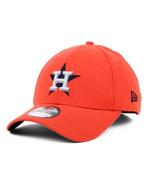 promo code 8065d 937e0 ... hot ktz orange houston astros mlb team classic 39thirty cap for men  lyst bb3ce 54729