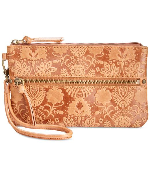 The Sak - Multicolor Sanibel Embossed Phone Charger Wristlet - Lyst