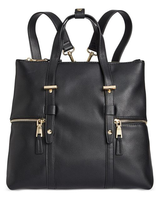 INC International Concepts - Black Haili Extra-large Convertible Backpack, Created For Macy's - Lyst