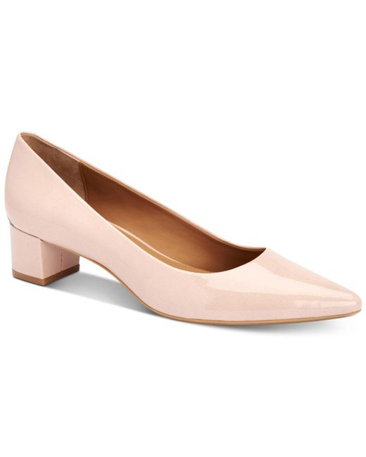 Calvin Klein | Multicolor Women's Genoveva Block-heel Flats | Lyst