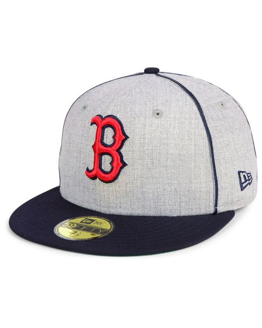 new concept 12780 f7dd4 ... KTZ - Multicolor Boston Red Sox Stache 59fifty Fitted Cap for Men - Lyst  ...