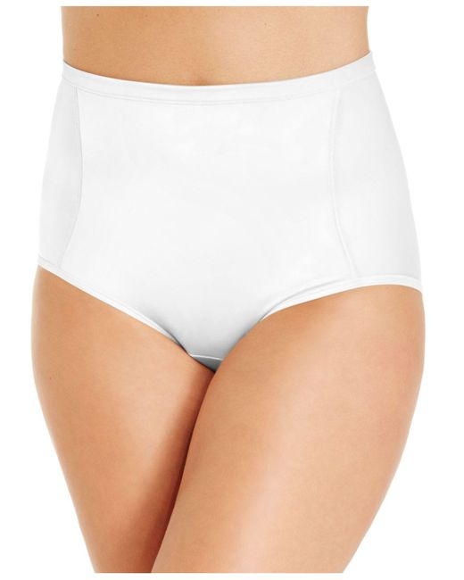 Vanity Fair - White Smoothing Comfort Body Caress Brief 13261 - Lyst