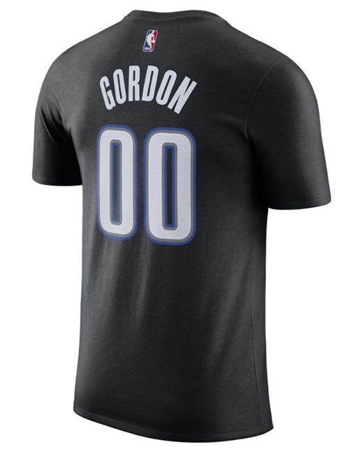 a771e491abc ... Nike - Black Aaron Gordon Orlando Magic City Player T-shirt 2018 for Men  ...