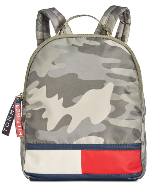 Tommy Hilfiger - Green Nori Camo Nylon Small Backpack - Lyst