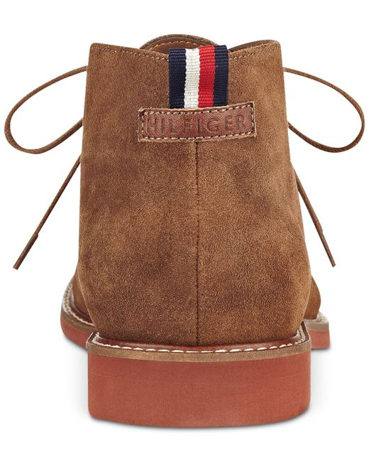 f4ab5dc66 Lyst - Tommy Hilfiger Men s Gervis Chukka Boots in Brown for Men