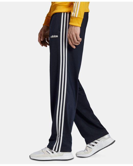 1fafe7405 ... Adidas - Blue Essentials 3-stripe Pants for Men - Lyst ...