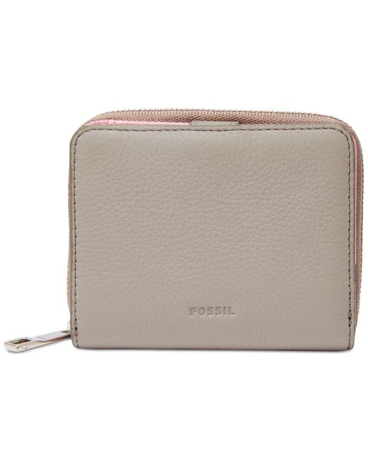 Fossil - Multicolor Emma Rfid Mini Leather Wallet - Lyst