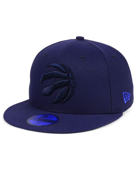new arrival 40a3a 5f4c4 ... uk ktz blue toronto raptors color prism pack 59fifty fitted cap for men  lyst 22273 5edd3