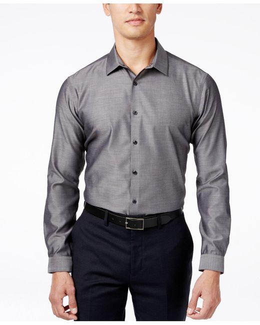 INC International Concepts | Gray Blake Long-sleeve Shirt for Men | Lyst